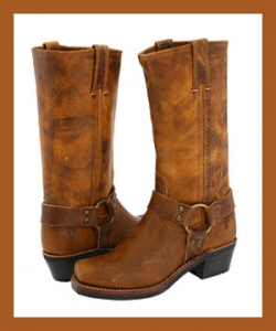 Frye Women's Harness 12R Boots - Dark Brown