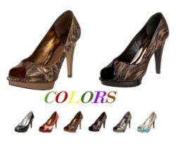 Carlos by Carlos Santana Women's Pleasure Peep-Toe Pump - Colors