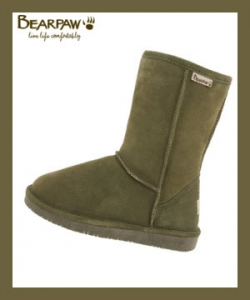 Bearpaw Emma Boots Loden Color