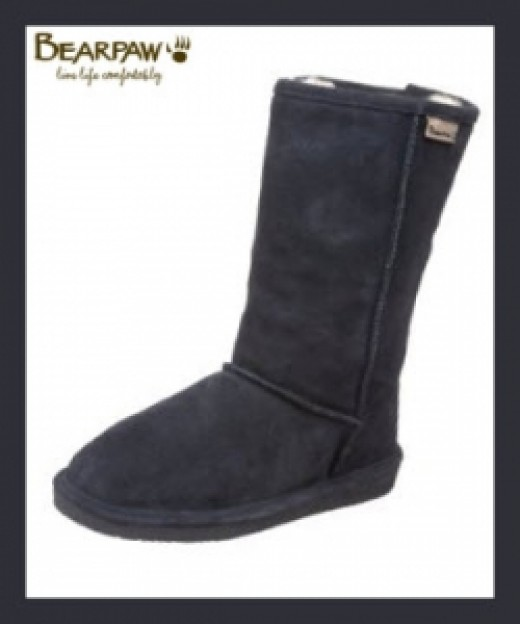Bearpaw Emma Boots In Navy Color