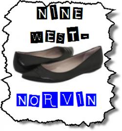 Norvin - Black Nine West Flat Shoes