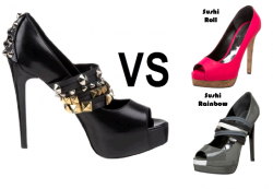 How Does Sushi Rock And Roll Mary Jane Pump Compare To Ruthie Davis Sushi Roll Peep Toe Pump And Sushi Rainbow Peep Toe Pump?