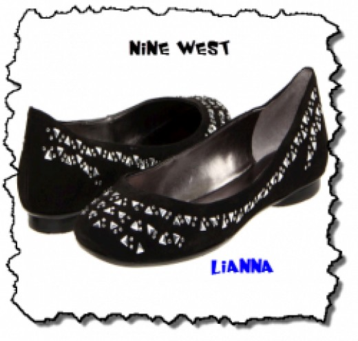 Lianna - Black Nine West Flat Shoes
