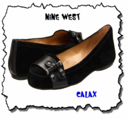 Calax - Black Nine West Flats