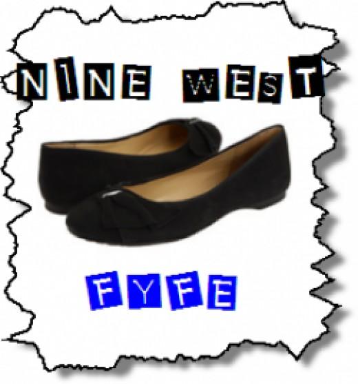 Fyfe - Black Nine West Flats