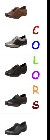 Drew Shoe Keena Oxford - Colors