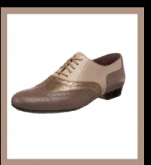 Robert Clergerie Filmy Oxford-TAUPE-DELI