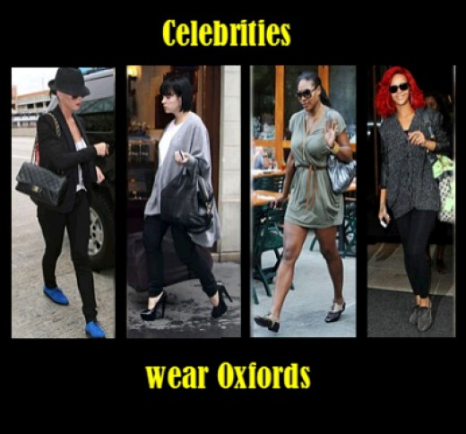 Oxford Shoes Are Popular Among Celebrities