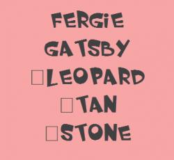 Fergie Gatsby Oxford Heels - Leopard