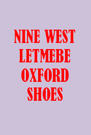 Nine West Letmebe Oxford Pump - Colors