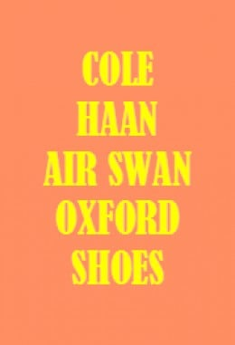 Cole Haan Air Swan Oxford - Colors