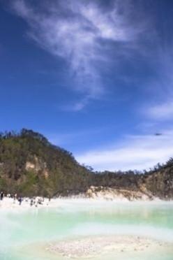 Kawah Putih Bandung (White Crater in Bandung Indonesia)