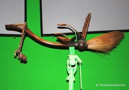 Green Screen Broom