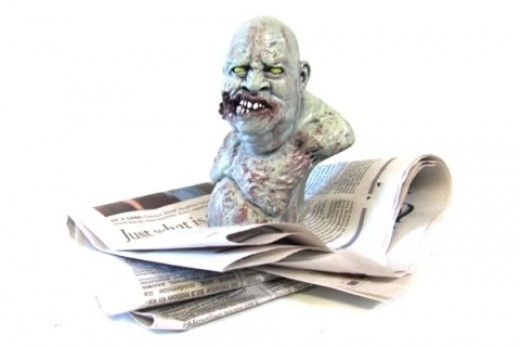 Zombie Paperweight - A Unique and Affordable Zombie Gift!