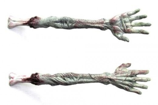 Zombie Gifts and Zombie Gift Ideas: Zombie Back Scratcher