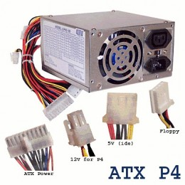Here's a photo of a typical ATX style power supply.