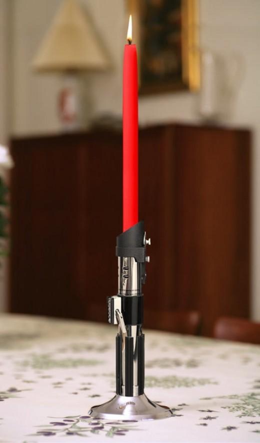 Star Wars Candlesticks Make a Great Star Wars Gift!