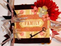 6x6 FAMILY paper bag album