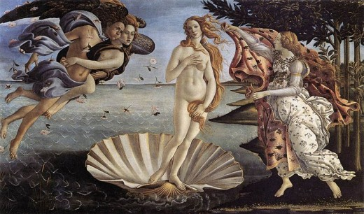 """The Birth of Venus"" by Sandro Botticelli, 1485"