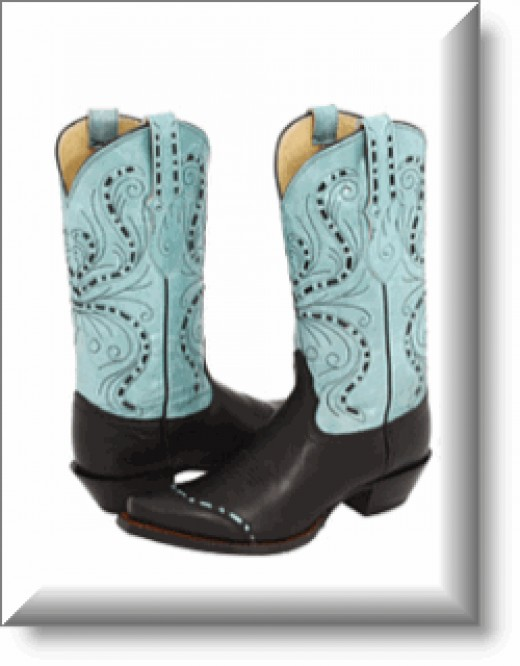 Women's Tony Lama Azul Star Boots