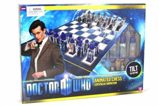 Doctor Who Lenticular Chess Set