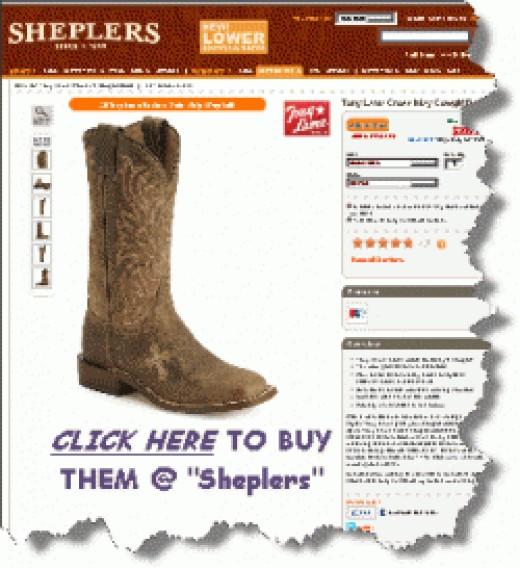 Women's Tony Lama Cross Inlay Cowgirl Boots