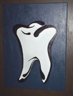 Hand Painted Dental Art - Dentist Paintings on Canvas for Your Dental Practice