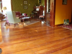Restoring and Maintaining Antique Heart-Pine Floors