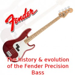 The History and Evolution of Fender Precision Bass Guitars