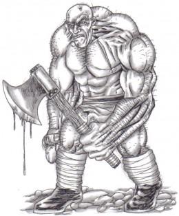 Shady troll looking shady but not slim shady!