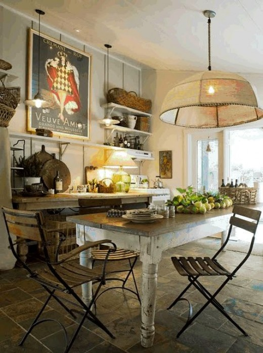 Upcycled furniture in your kitchen