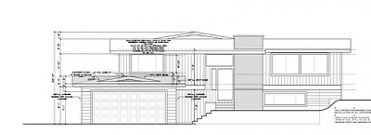 Elevation of New Plan