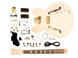 Hollow body jazz guitar kit