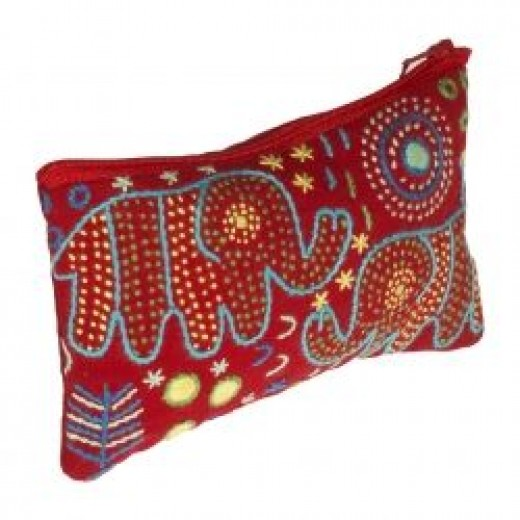 Embroidered Fair Trade Purses