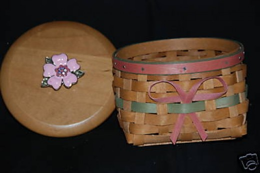 This is the acutal Longaberger basket I was trying to make