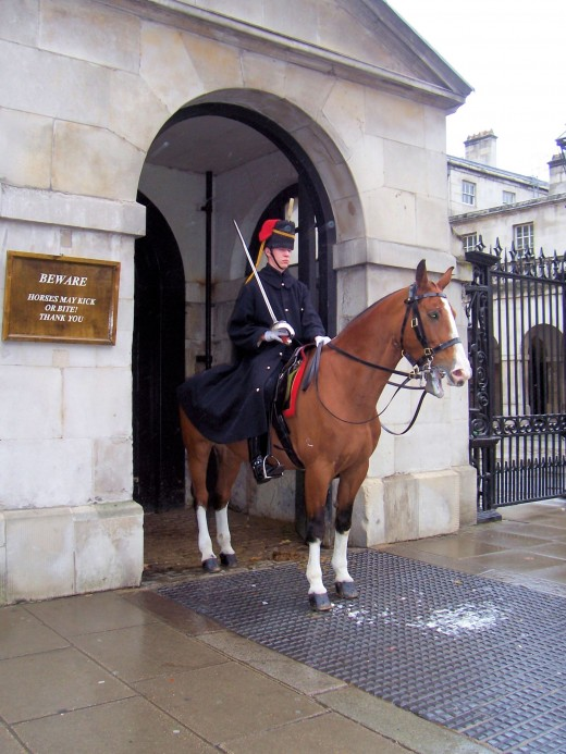 horse and guard London