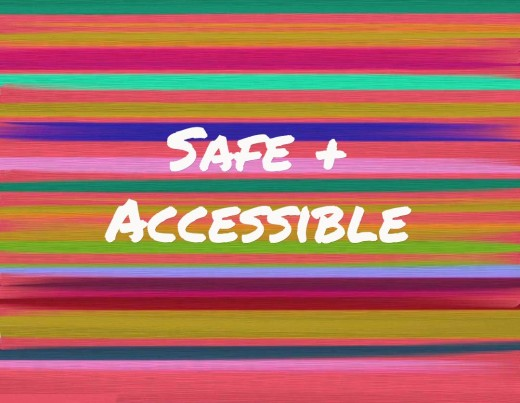 Safe, accessible bathroom design