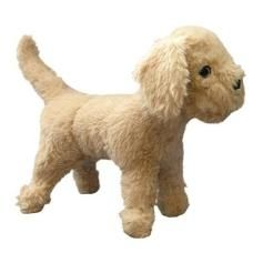 """From the Mighty Dog Toys collection, this is Fred McRuff. He rates an 8 on the """"Tuff Scale"""" and is made with 4 layers of stitching and 2 layers of fabric. He's extra soft and doesn't have any hard corners - so you can bet he's a favorite with dogs wh"""