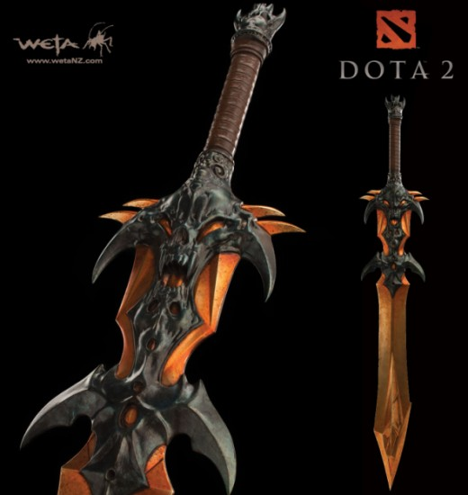 DOTA 2 : DEMON EDGE SWORD