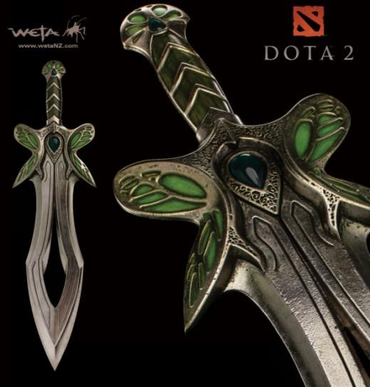 DOTA 2 : BUTTERFLY SWORD