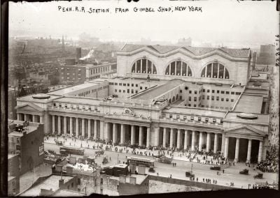Penn Station Aerial View