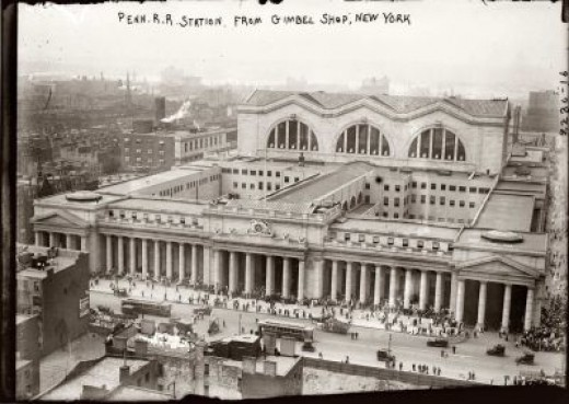 Penn Station Aerial View