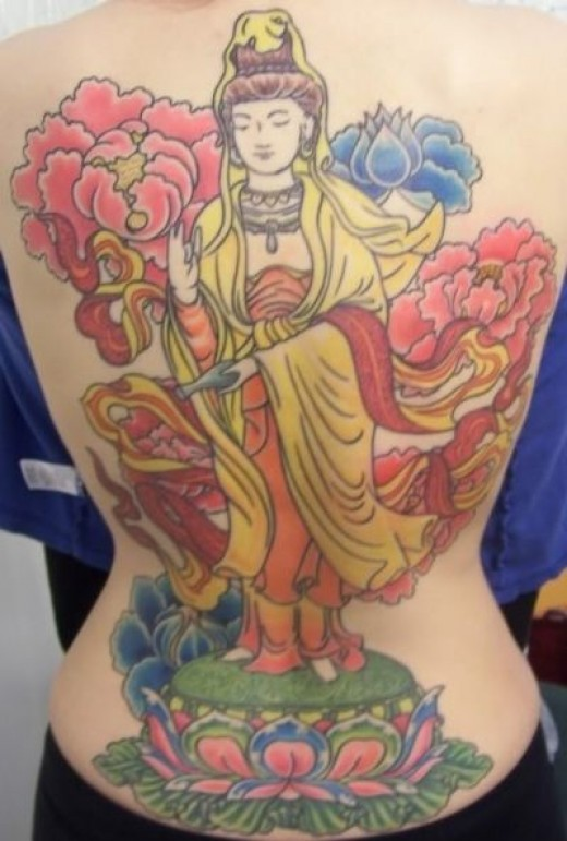 My Quan Yin Tattoo
