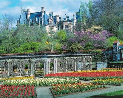 Biltmore Estate in the Spring