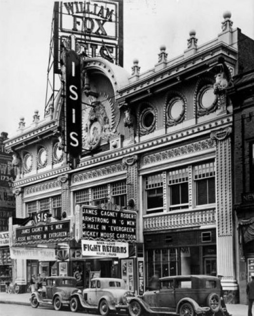 The Isis Theater, Denver, CO. Gone.