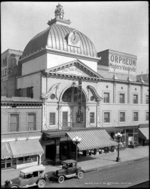 The Orpheum. Gone.