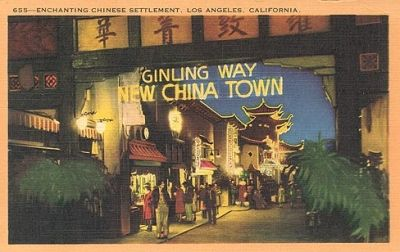 Chinatown, Los Angeles ~ A shining example of financially viable preservation