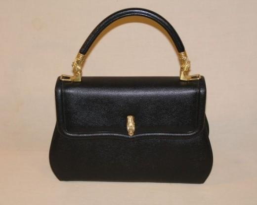 ArtBag Black Lizard Model 1804 Italy