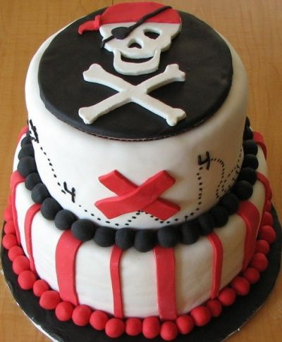 Pirate Cake Inspiration #4