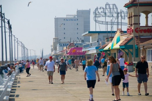 #43 The Boardwalk at Rehobeth Beach in the Summer